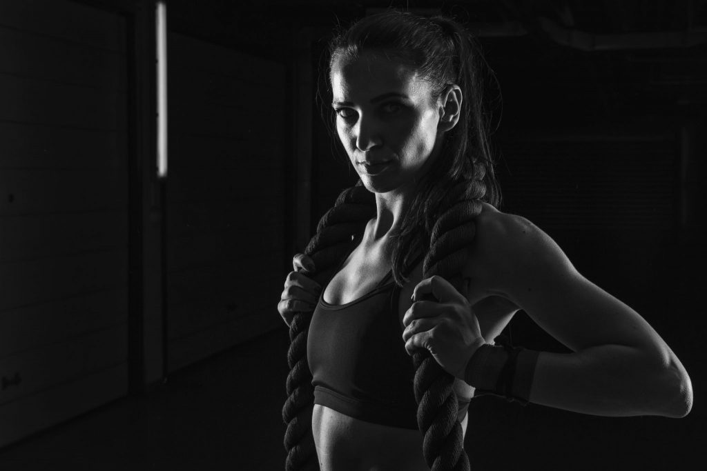 girl in the gym black photo by z.pucarevic pucko