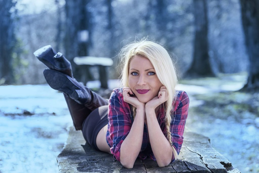 blonde girl portrait photo by z.pucarevic pucko